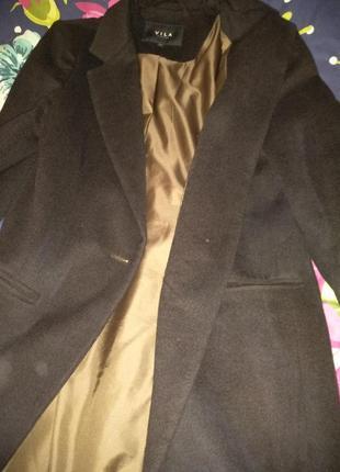 Пальто кашемир вила