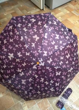Мини зонтик, супер подарок, в чехле, всего 23,5 см, отличный подарок