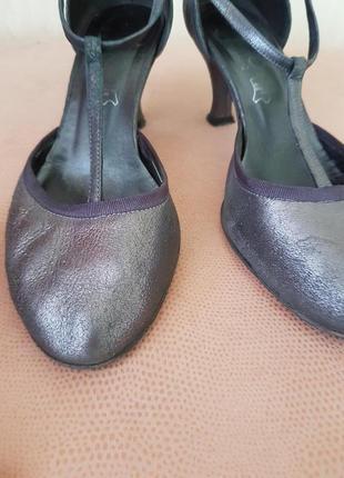 Туфельки кожа лайка испания