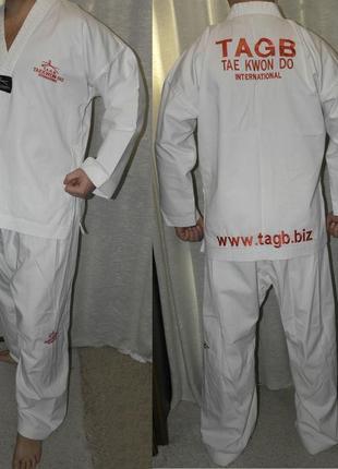 Tae kwon do кимоно куртка+штаны тей квон-до комплект