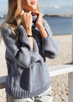 Шикарный стильный свитер в стиле оверсайз♥