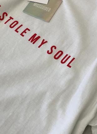 Стильная футболка с надписью  ts1849098 missguided2