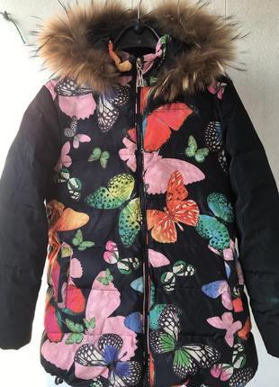 Пуховик подростковый куртка на р.146-160