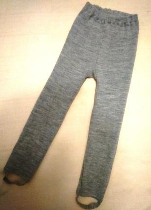 Теплые штанишки/рейтузы/лосины 98р.