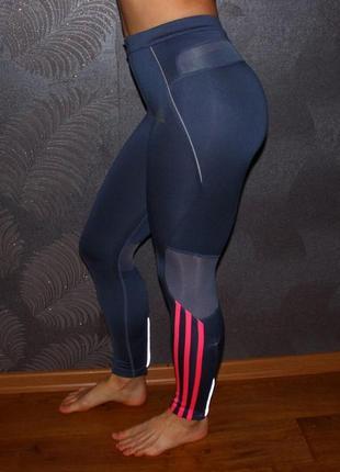 Фирменные спортивные лосины/леггинсы adidas (тайтсы спорт/фитнес/йога)
