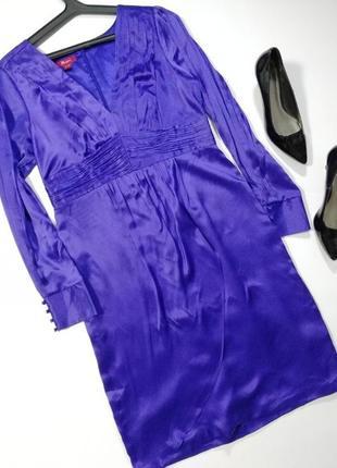 Платье вечернее нарядное шелк