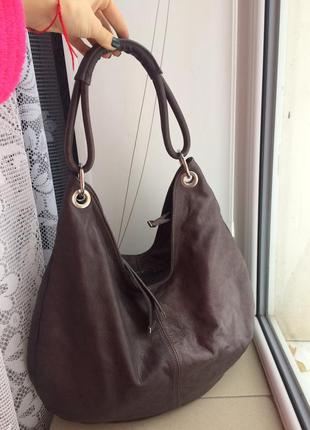 Кожаная сумка borse in pelle, италия