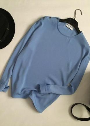 Красивая базовая блуза mango