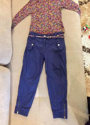 Красивые стильные штаны для вашей девочки c&a palomino р 122