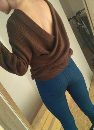 Шикарный двусторонний свитер