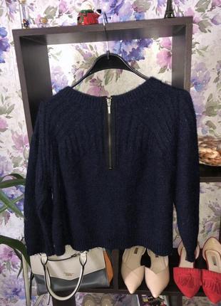 Теплый укороченный свитер topshop
