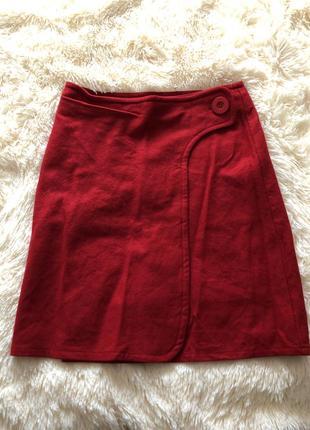 Шерстяная юбка topshop