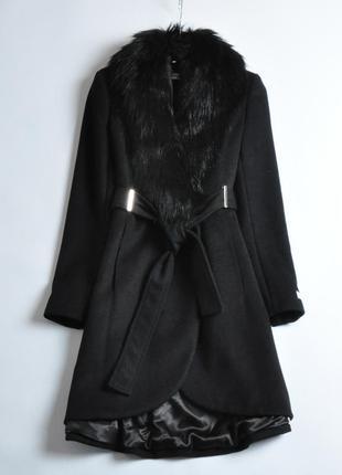Шерстяное пальто calvin klein