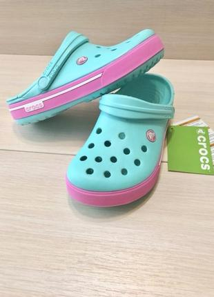 Кроксы сабо crocs crocband unisex 2.5