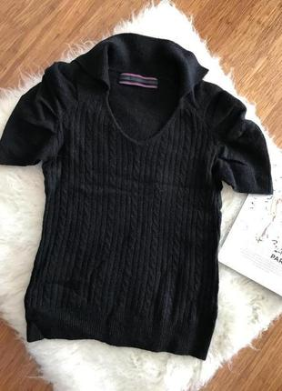 Теплый свитер silvian heach, шерсть c ангорой