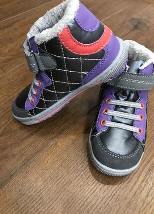 Кроссовки тапочки ботинки ботиночки для девочки и для мальчика (eu 25, uk 7,5 - 16см)