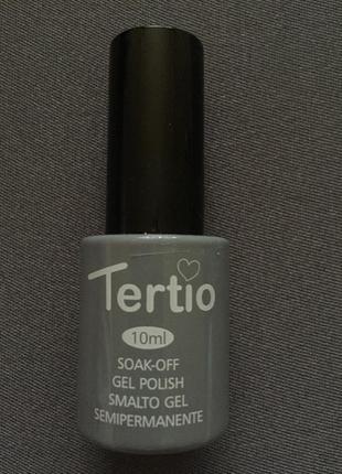 Лак гель gel polish tertio