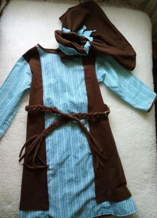 Карнавальный костюм араба, бедуина, арабский национальный костюм, tesco