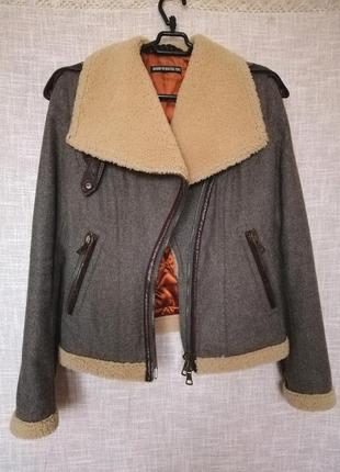 Drykorn ,теплая куртка в стиле милитари высочайшего качества