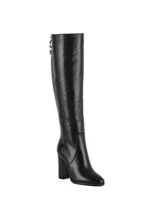 1057ц женские ботфорты sasha fabiani,кожаные,на танкетке,на каблуке,на толстом каблуке