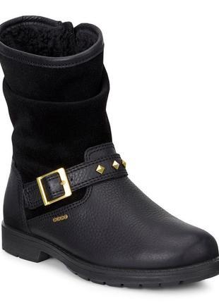 Женские зимние сапоги ботинки ecco bendix на gore-tex оригинал р-36,37