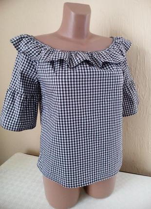 Стильна блуза із воланом !