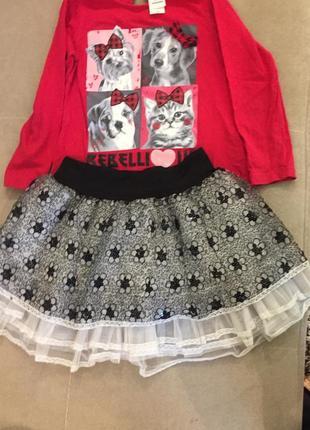 Лоногслив, футболка,кофта,кофточка h&m c&a, palomino р 116