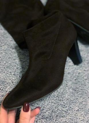 Сапоги носком