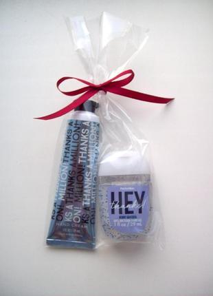 Подарочный набор bath and body works крем для рук и антисептик