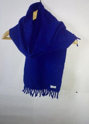 100% шерсть! шарф от benetton (италия)