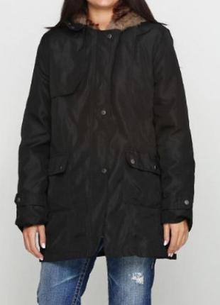 Зимняя парка/куртка. чёрная