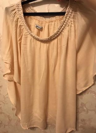 Легкая блуза gina tricot