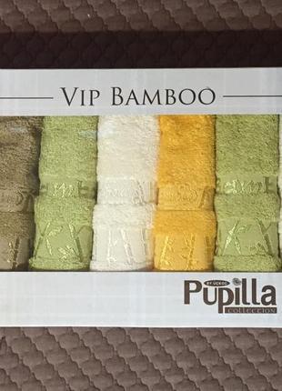 Просто шикарный набор мягусеньких полотенец-салфеток - отлично себе или на подарок!