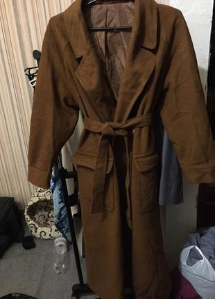 пальто на верблюжей шерсти женское 2019 купить недорого вещи в