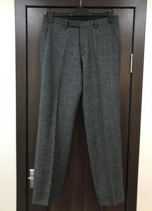 ❄️нг скидки-10% ❄️шерстяные классические брюки hugo boss 100% шерсть