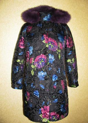 Ексклюзивне шикане тепле пальто