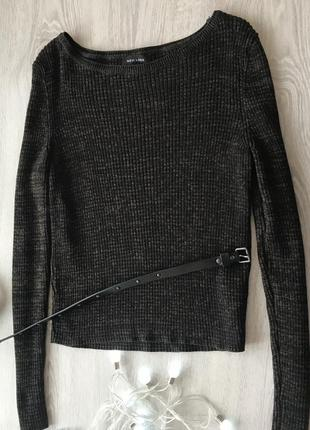 Кофта/ джемпер/свитер в рубчик new look