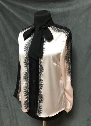 Нежная блуза с кружевом2 фото