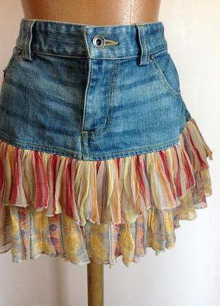Модная мини юбка. /m/ brend esprit