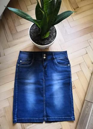 Юбка джинс 90грн