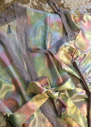 Комплект для сна very important princess халат шорты майка из сатина