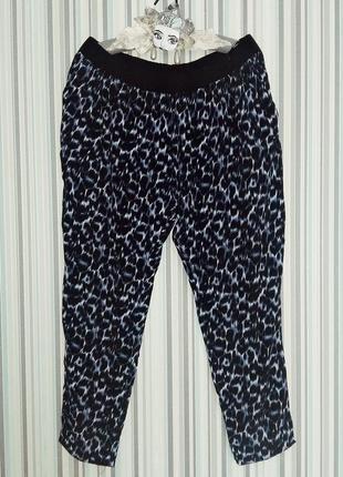 Зауженные брюки из вискозы 18 размер/ 52-54