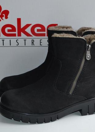 Теплые зимние ботинки rieker, 37 р