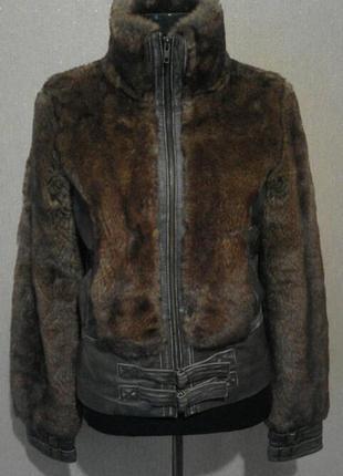 Классная стильная куртка шуба