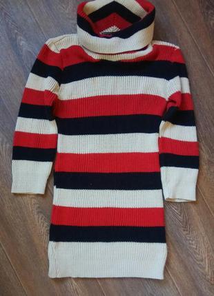 Тёплое платье от muizz , туника, свитер-платье