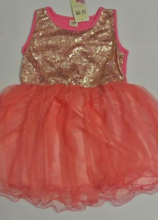 12-38 нарядное детское платье на выпускной праздник утренник фотосессию 122 128 1342 фото