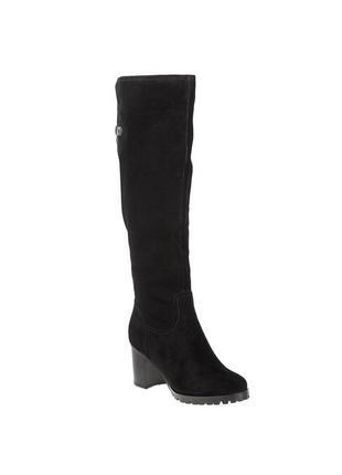 997ц женские ботфорты sufinna,замшевые,на каблуке,из круглым носком,на толстом каблуке