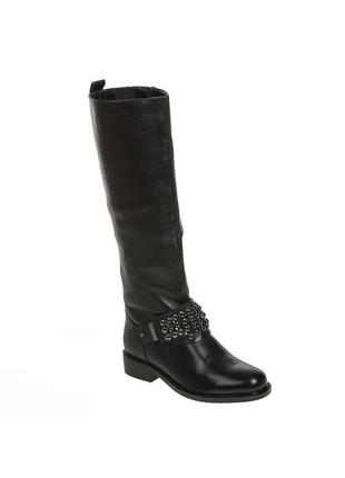 982ц женские сапоги reuchll,кожаные,на толстом каблуке,на каблуке,на низком ходу