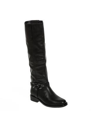 981ц женские сапоги reuchll,кожаные,на каблуке,на низком ходу,на толстом каблуке