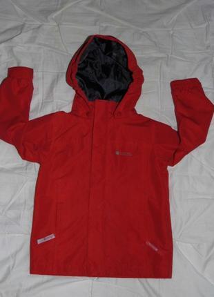 Детская водонепроницаемая куртка-mountain warehouse-3-4 -англия